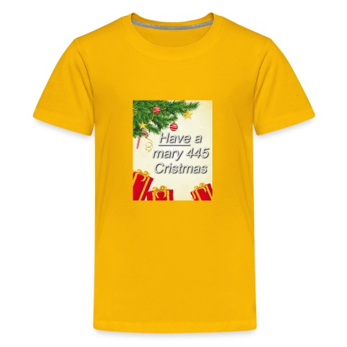 Have a Mary 445 Christmas - Kids' Premium T-Shirt