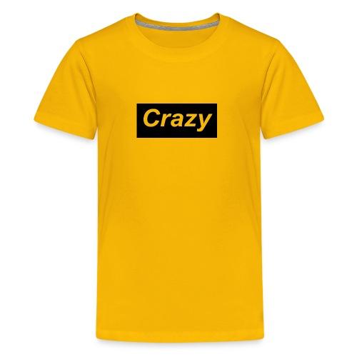 Crazy logo - Kids' Premium T-Shirt