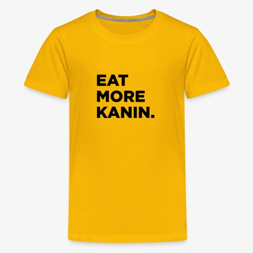 Eat More Kanin T-Shirt - Kids' Premium T-Shirt