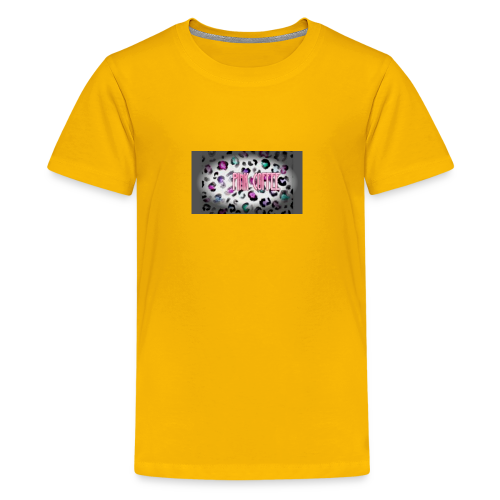 Pink Coffee Logo #1 - Kids' Premium T-Shirt