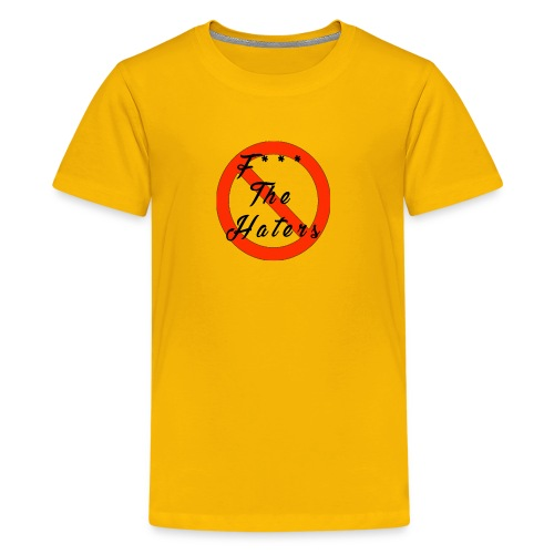 F*** The Haters with style - Kids' Premium T-Shirt