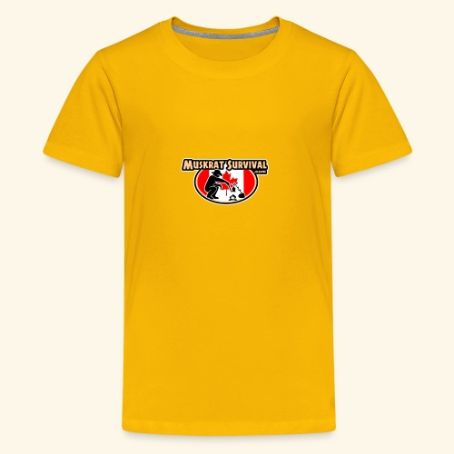 Muskrat Badge 2019 - Kids' Premium T-Shirt