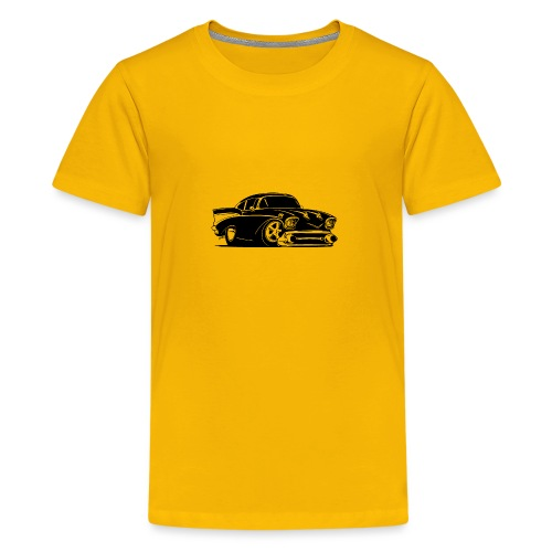 Classic American Hot Rod Car - Kids' Premium T-Shirt