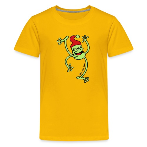 Merry Christmas Frog - Kids' Premium T-Shirt