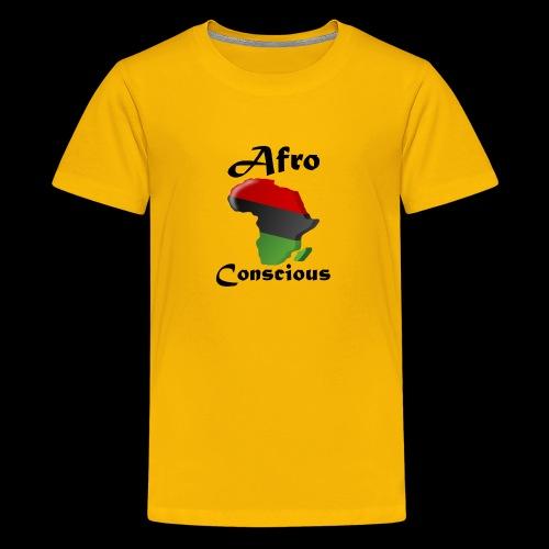 afro conscious black - Kids' Premium T-Shirt