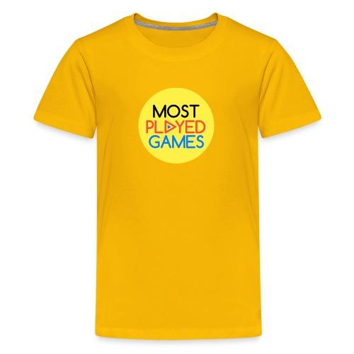 Most Played Games Logo - Kids' Premium T-Shirt