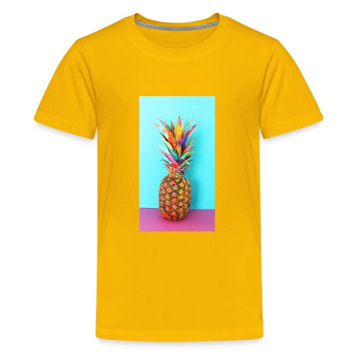 Colorful pineapple - Kids' Premium T-Shirt