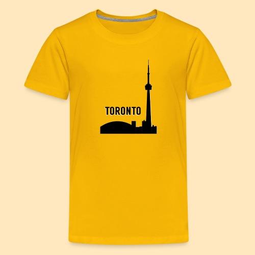 Toronto Skyline - Kids' Premium T-Shirt