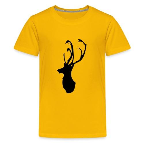 Mesanbrau Stag logo - Kids' Premium T-Shirt