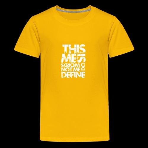 Words Do Not Define Me - Kids' Premium T-Shirt