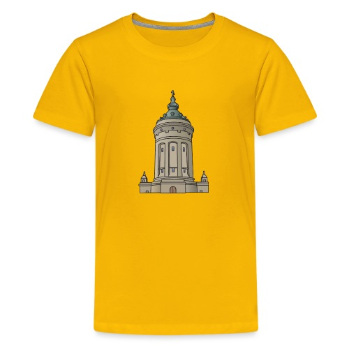 Mannheim water tower - Kids' Premium T-Shirt
