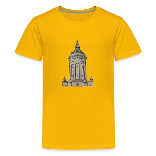 Mannheim water tower - Kids' Premium T-Shirt