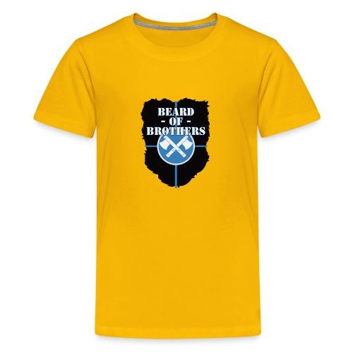 Beard Of Brothers - Kids' Premium T-Shirt