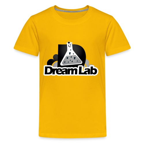 DreamLab Black/Gray - Kids' Premium T-Shirt