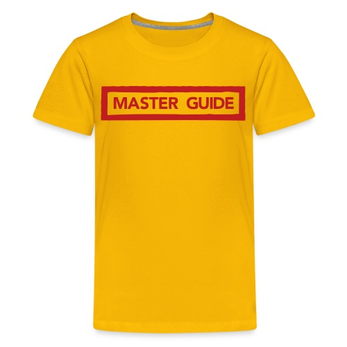 MASTER GUIDE - Kids' Premium T-Shirt