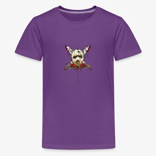 Exclusive Jason Vorhees Xay Papa edition Mask - Kids' Premium T-Shirt