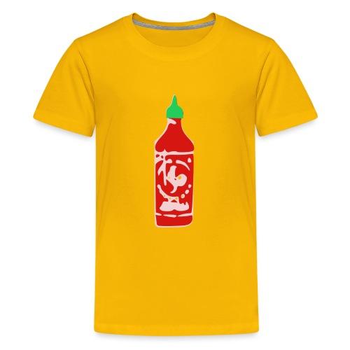 Hot Sauce Bottle - Kids' Premium T-Shirt