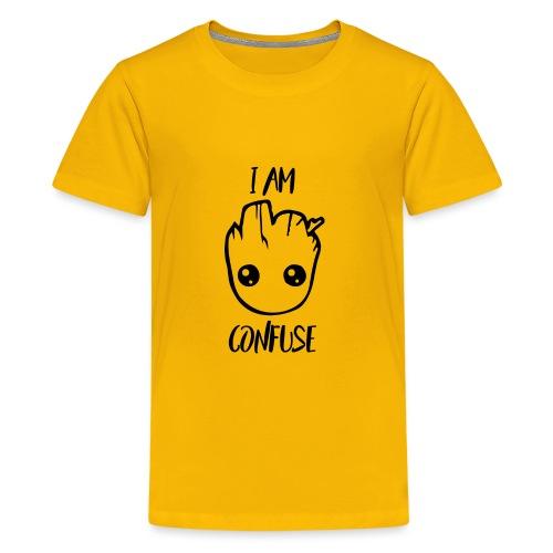 I Am Confuse Head - Kids' Premium T-Shirt