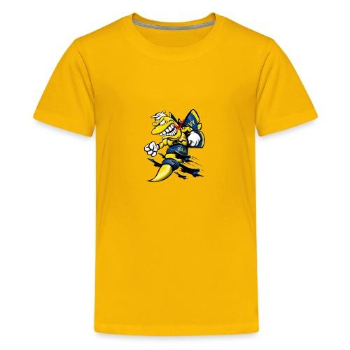 Cartoon Blue Angels F/A-18 Hornet - Kids' Premium T-Shirt