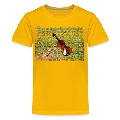 Violin Caprice - Kids' Premium T-Shirt