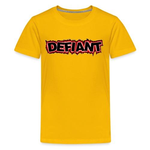 New Defiant Logo gif - Kids' Premium T-Shirt