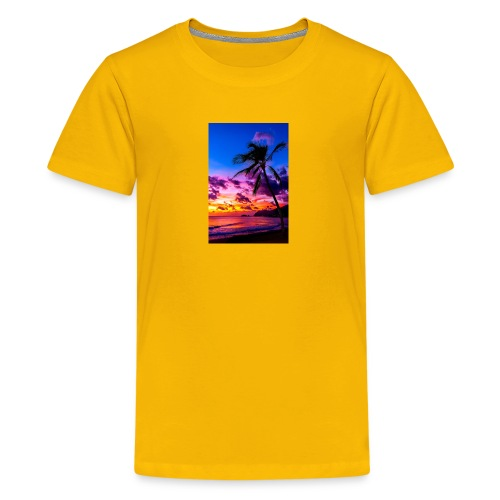 my honeymoon is going to be in Hawaii - Kids' Premium T-Shirt