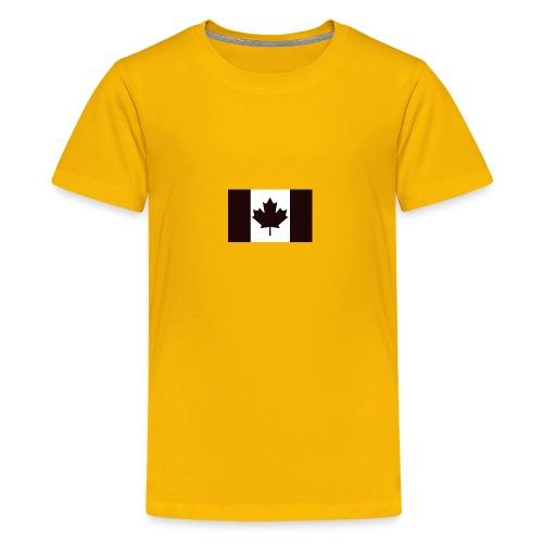 Military canadian flag - Kids' Premium T-Shirt