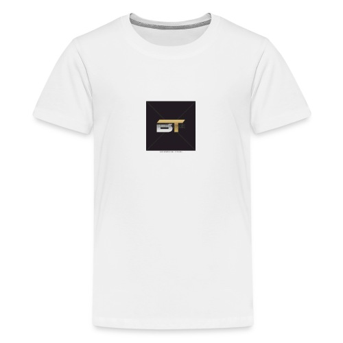 BT logo golden - Kids' Premium T-Shirt