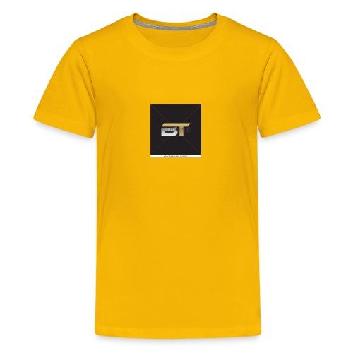 BT logo golden - Kids' Premium T-Shirt