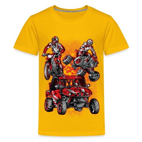 Extreme Stunts Motorsports - Kids' Premium T-Shirt
