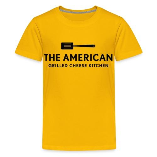 TAGCK Ringer Shirt-White/Black - Kids' Premium T-Shirt