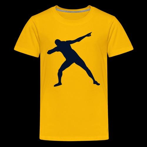 Bolt triumph silhouette - Kids' Premium T-Shirt