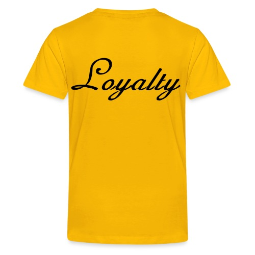 Loyalty Brand Items - Black Color - Kids' Premium T-Shirt
