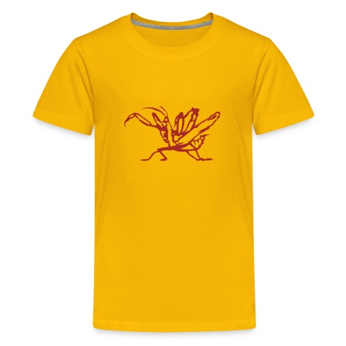 kung-fu-front-Josh - Kids' Premium T-Shirt