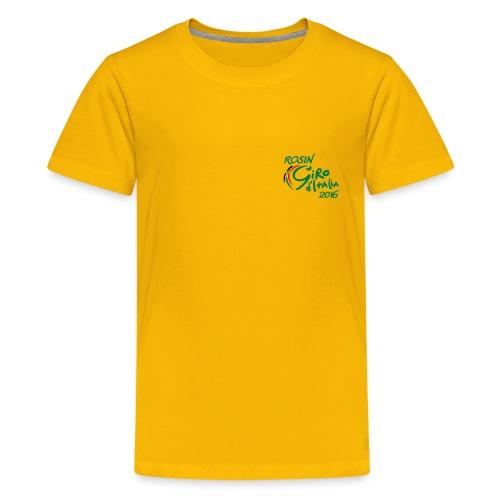 rosin tour tshirt - Kids' Premium T-Shirt