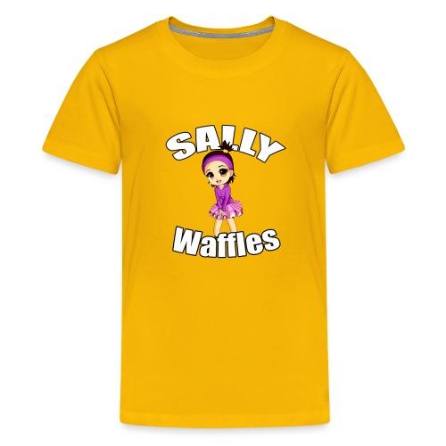 Sally Waffles - Kids' Premium T-Shirt