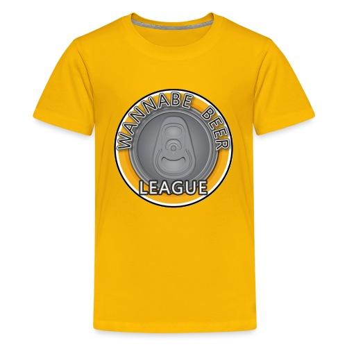 Logo Wannabe Beer League - Kids' Premium T-Shirt