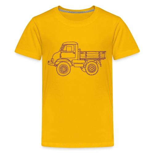 Off-road truck, transporter - Kids' Premium T-Shirt