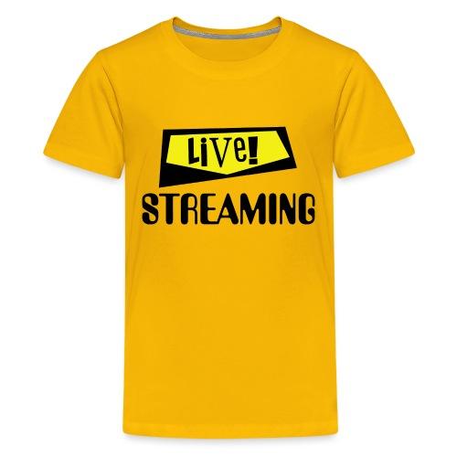 Live Streaming - Kids' Premium T-Shirt