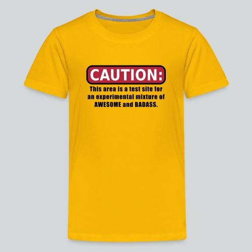 Awesome and Badass - Kids' Premium T-Shirt