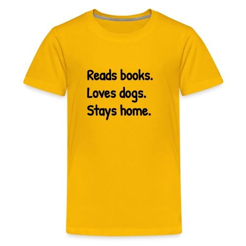 Loves Dogs - Kids' Premium T-Shirt