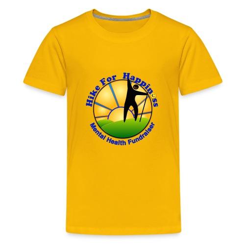 Hike Tops & Buttons - Kids' Premium T-Shirt