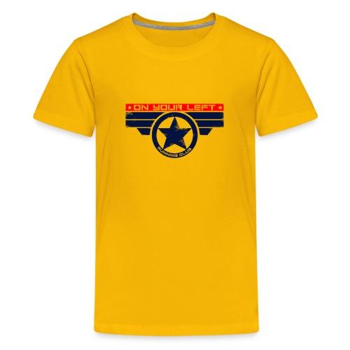 On Your Left Running Club - Kids' Premium T-Shirt