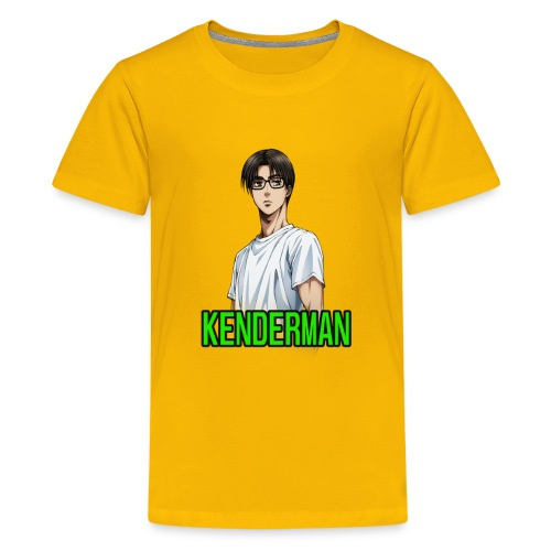 Kenderman manga style merch - Kids' Premium T-Shirt