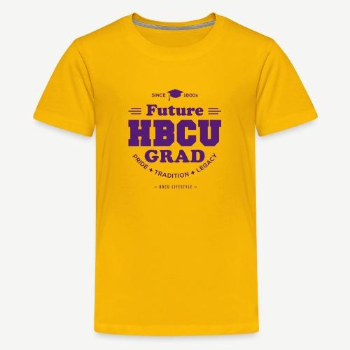 Future HBCU Grad Youth - Kids' Premium T-Shirt