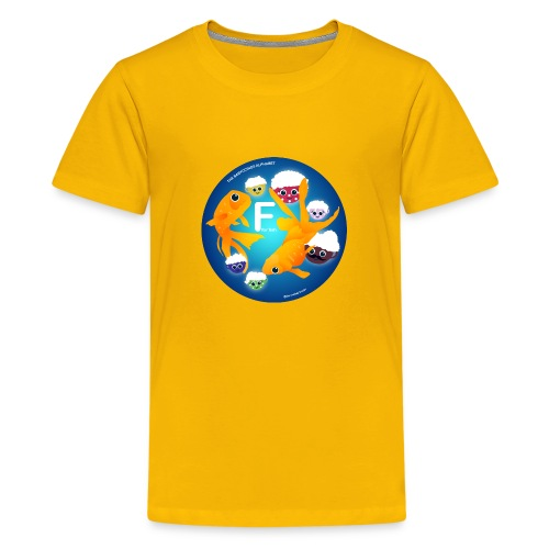 The Babyccinos The Letter F - Kids' Premium T-Shirt