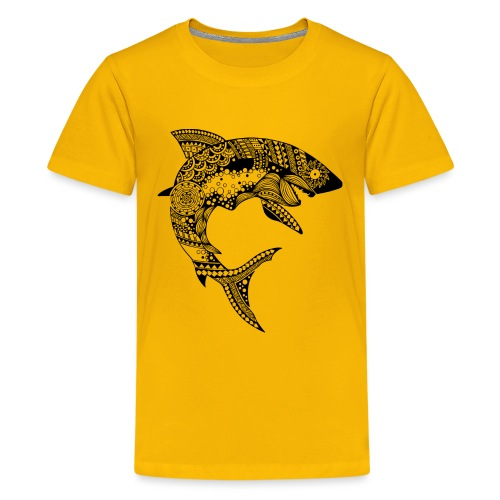Shark South Seas Tees - Kids' Premium T-Shirt