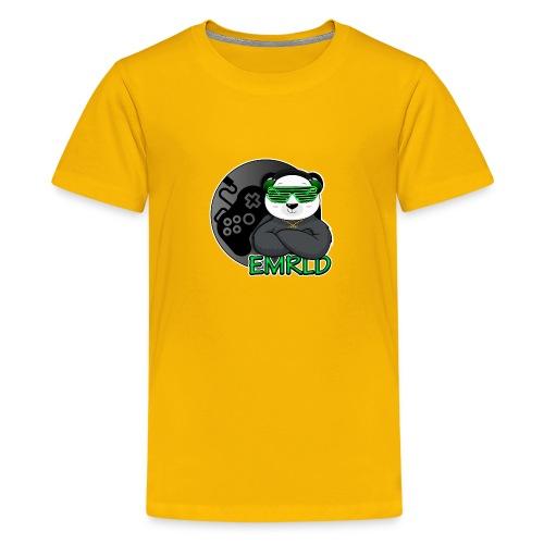 Emerald Logo - Kids' Premium T-Shirt