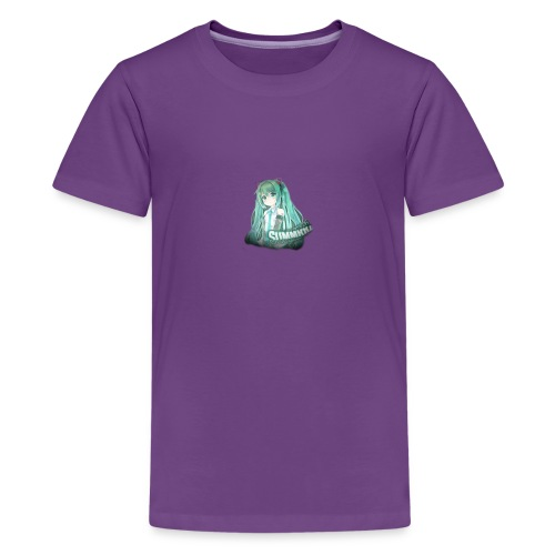 Summrrz Logo Transparent - Kids' Premium T-Shirt