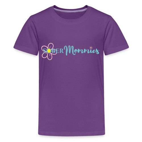 Sober Mommies Merch - Kids' Premium T-Shirt
